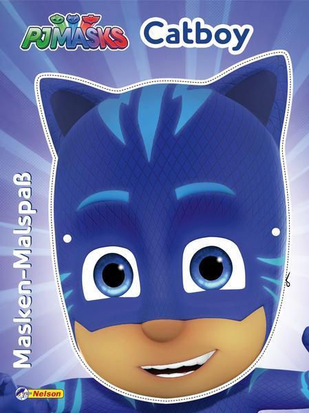 PJ Masks: Masken-Malspaß Catboy - Mit toller Maske zum Basteln