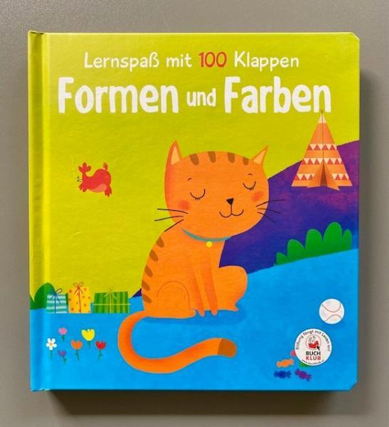 Lernspaß mit 100 Klappen - Formen und Farben (Mängelexemplar)