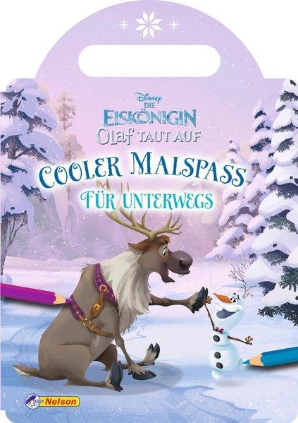 Disney Die Eiskönigin Olaf taut auf: Cooler Malspaß für unterwegs (Mängelexemplar)