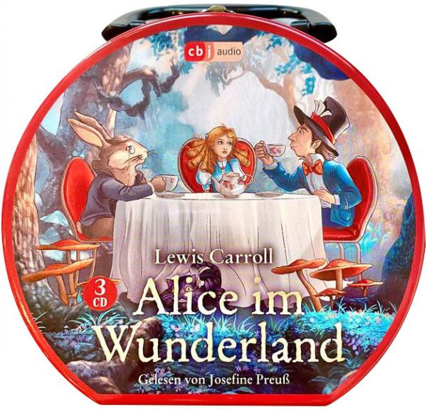 Hörbuchkoffer - Alice im Wunderland