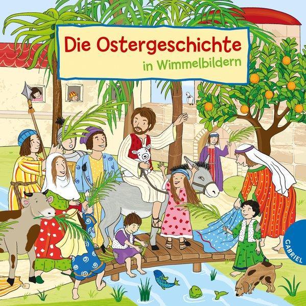 Die Ostergeschichte in Wimmelbildern (Mängelexemplar)
