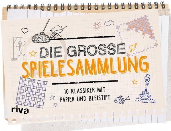 Die große Spielesammlung - 20 Klassiker mit Papier und Bleistift (Mängelexemplar)