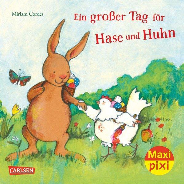 Maxi Pixi 243: Ein großer Tag für Hase und Huhn (Mängelexemplar)