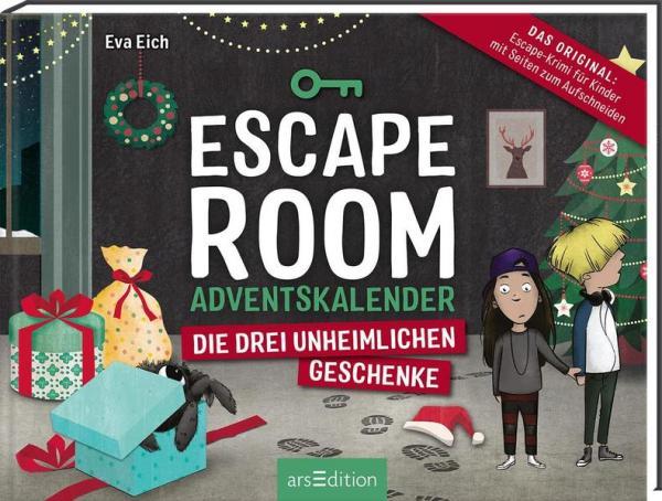 Escape Room. Die drei unheimlichen Geschenke - Adventskalender für Kinder (Mängelexemplar)