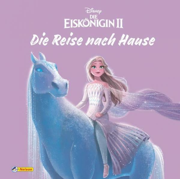 Disney Die Eiskönigin 2 - Die Reise nach Hause (Bilderbuch mit Glitzer) (Mängelexemplar)