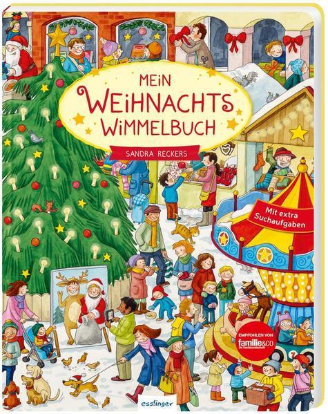 Mein Weihnachts-Wimmelbuch (Mängelexemplar)