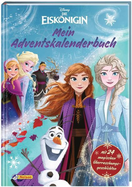 Aktion: Disney - Die Eiskönigin: Mein Adventskalenderbuch -24 Überraschungsgeschichten (Mängelex.)