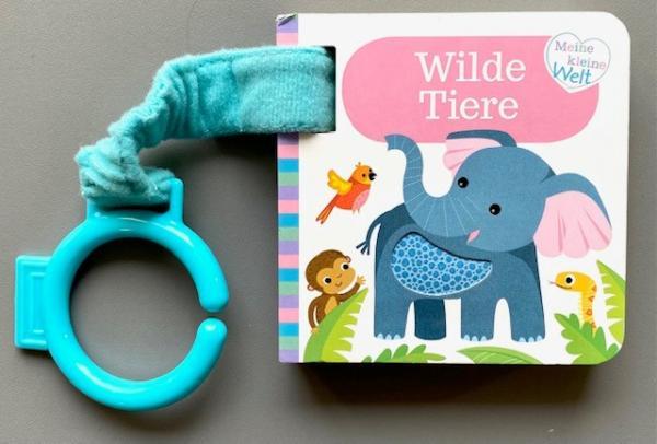 Wilde Tiere - Buggybuch (Mängelexemplar)