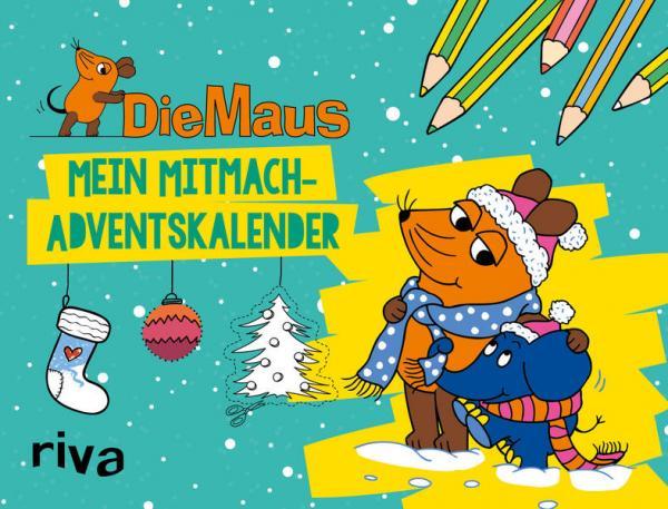 Die Maus - Mitmach-Adventskalender - 24 x Malen, Rätseln, Entdecken (Mängelexemplar)
