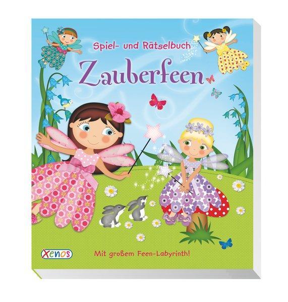 Spiel- und Rätselbuch: Zauberfeen (Mängelexemplar)