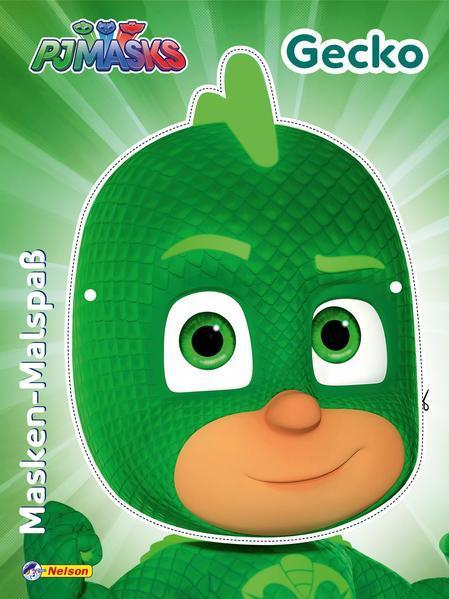 PJ Masks: Masken-Malspaß Gecko - Mit toller Maske zum Basteln