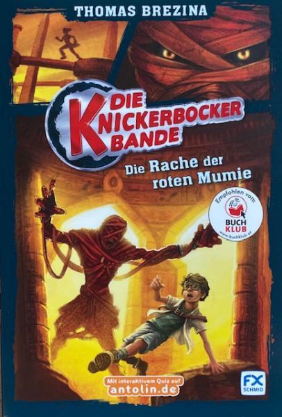 Die Knickerbocker-Bande, Band 5: Die Rache der roten Mumie