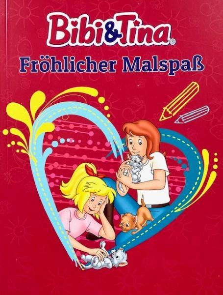 Bibi & Tina: Fröhlicher Malspaß (Mängelexemplar)