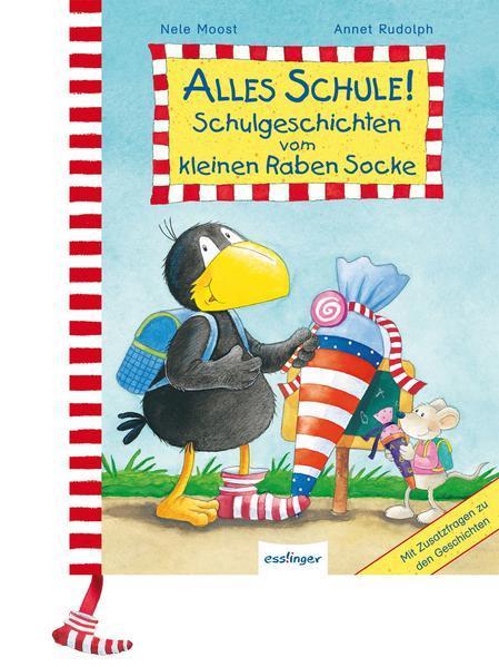 Der kleine Rabe Socke: Alles Schule! Schulgeschichten - Geschenkausgabe