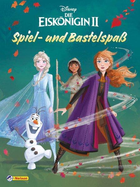 Disney Die Eiskönigin 2: Spiel- und Bastelspaß - Bunter Rätselspaß auf 48 Seiten (Mängelexemplar)