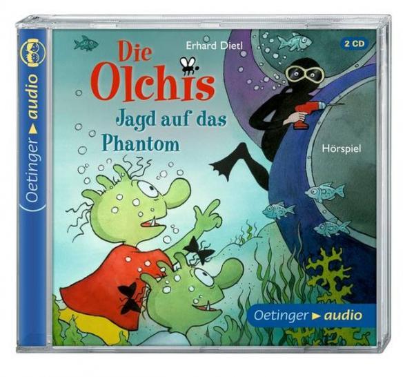 Die Olchis. Jagd auf das Phantom (2 CD) - Hörspiel