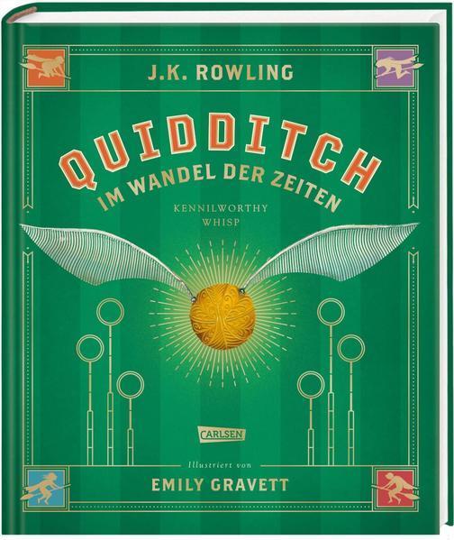 Quidditch im Wandel der Zeiten (farbig illustrierte Schmuckausgabe) (Mängelexemplar)
