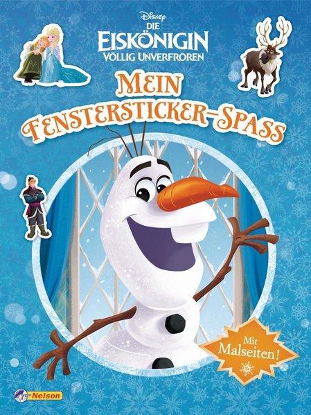 Disney Eiskönigin: Mein Fenstersticker-Spaß - Kinderbeschäftigung ab 4 (Mängelexemplar)