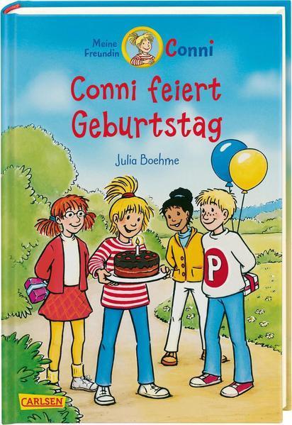 Conni-Erzählbände 4: Conni feiert Geburtstag (farbig illustriert) (Mängelexemplar)