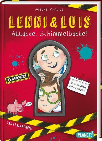Lenni und Luis 1: Attacke, Schimmelbacke!-Unterhaltsames Kinderbuch ab 8 Jahren (Mängelexemplar)