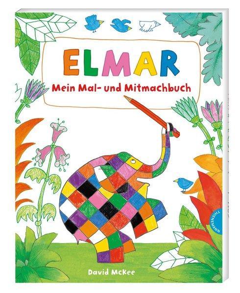Elmar: Mein Mal- und Mitmachbuch (Mängelexemplar)