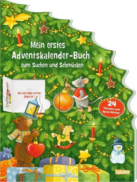 Mein erstes Adventskalender-Buch zum Suchen und Schmücken (Mängelexemplar)