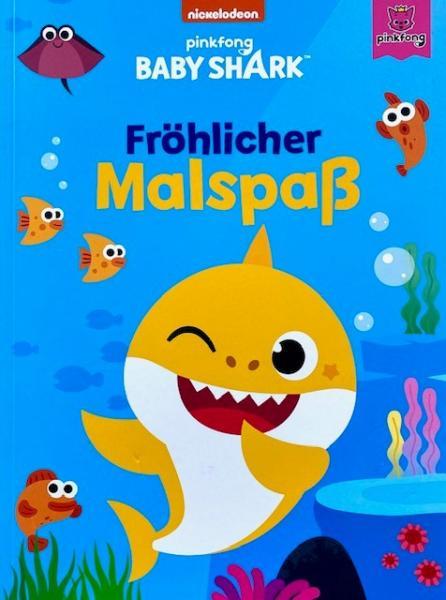 Baby shark: Fröhlicher Malspaß (Mängelexemplar)