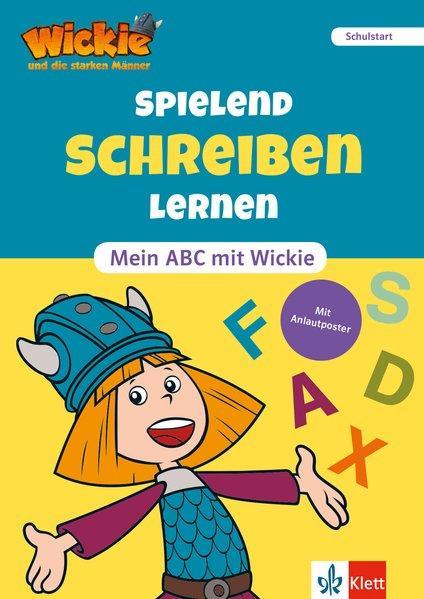 Aktion: Wickie und die starken Männer - Spielend schreiben lernen - Mein ABC mit Wickie. Schulstart