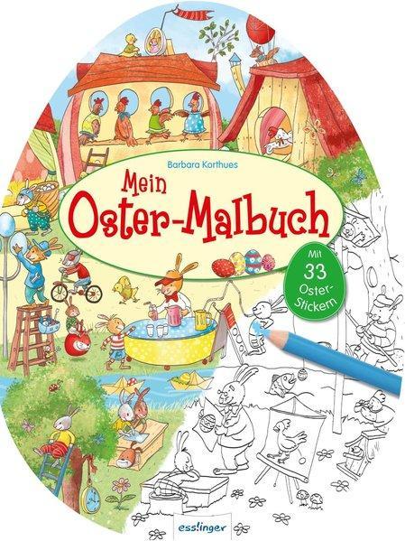 Mein Oster-Malbuch (Mängelexemplar)