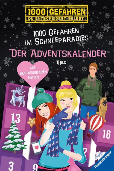 Der Adventskalender - 1000 Gefahren im Schneeparadies (Mängelexemplar)