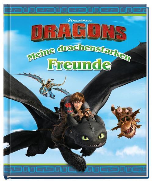 DreamWorks Dragons: Meine drachenstarken Freunde (Mängelexemplar)