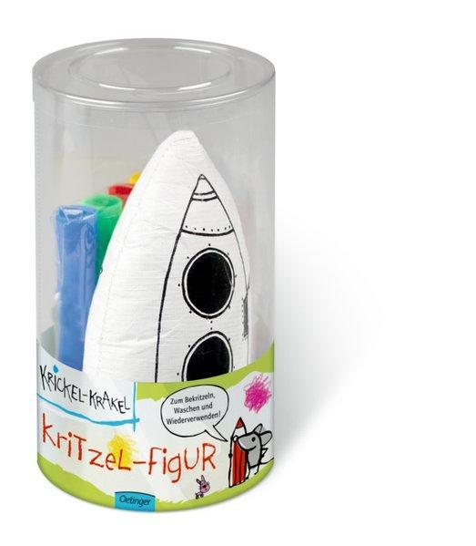 Aktion: Krickel-Krakel Kritzel-Figur Rakete