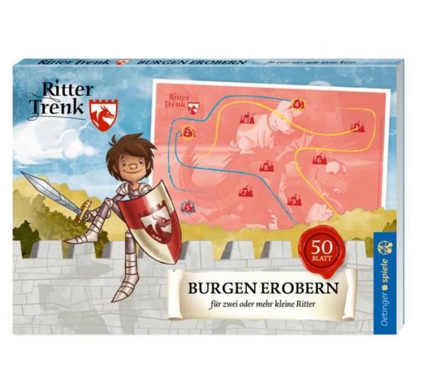 Ritter Trenk Blockspiel Burgen erobern - für 2 oder mehr kleine Ritter