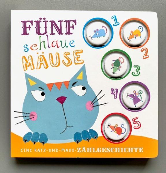 Fünf schlaue Mäuse - Eine Katz-und-Mause Zählgeschichte (Mängelexemplar)