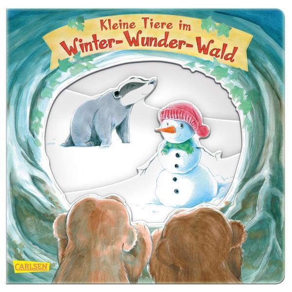 Kleine Tiere im Winter-Wunder-Wald (Mängelexemplar)