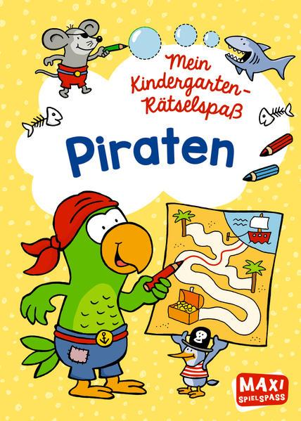 Mein Kindergarten-Rätselspaß - Piraten
