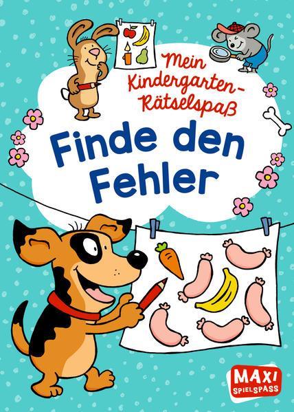 Mein Kindergarten-Rätselspaß - Finde den Fehler
