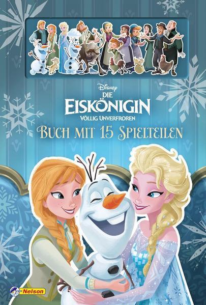 Disney Die Eiskönigin: Familien sind wie Schneeflocken - Buch mit 15 Spielteilen (Mängelexemplar)