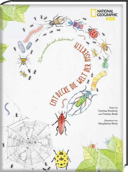 Was versteckt sich dahinter? Entdecke die Welt der Insekten - National Geographic Kids