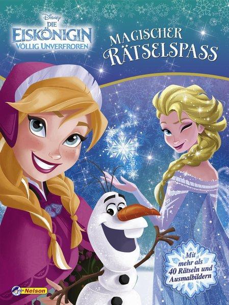 Disney Eiskönigin: Magischer Rätselspaß (Mängelexemplar)