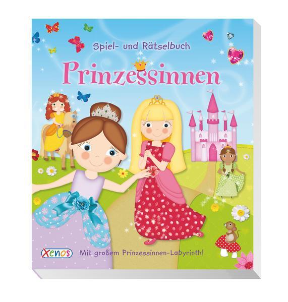 Spiel- und Rätselbuch: Prinzessinnen