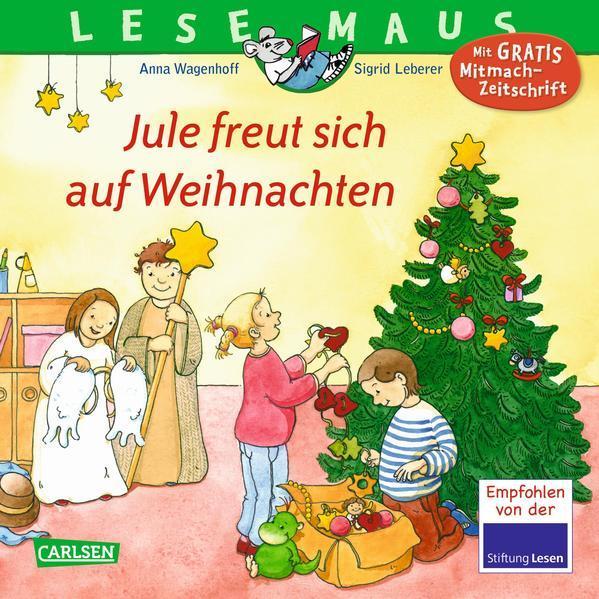 LESEMAUS 161: Jule freut sich auf Weihnachten (Mängelexemplar)