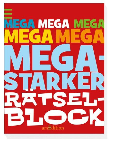 Megastarker Rätselblock (Mängelexemplar)