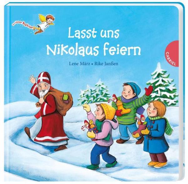Dein kleiner Begleiter: Lasst uns Nikolaus feiern (Mängelexemplar)