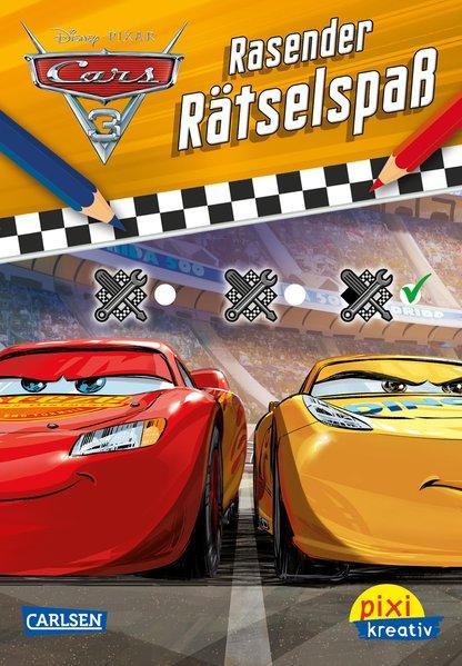 Pixi kreativ 112: Disney Cars 3 - Rasender Rätselspaß (Mängelexemplar)