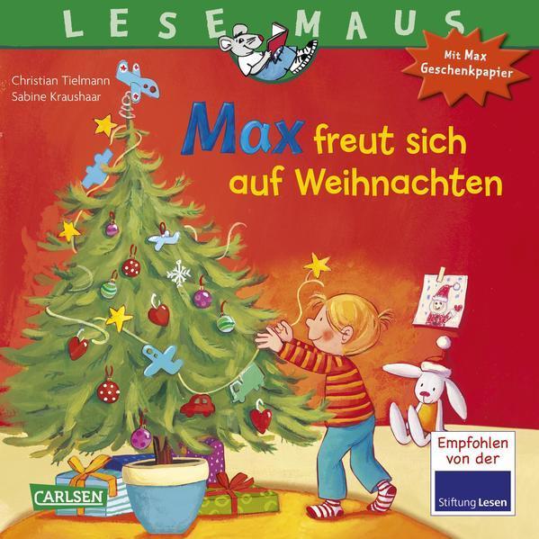 LESEMAUS 130: Max freut sich auf Weihnachten - Mit tollem Geschenkpapier (Mängelexemplar)