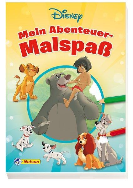 Disney Klassiker: Mein Abenteuer-Malspaß (Mängelexemplar)