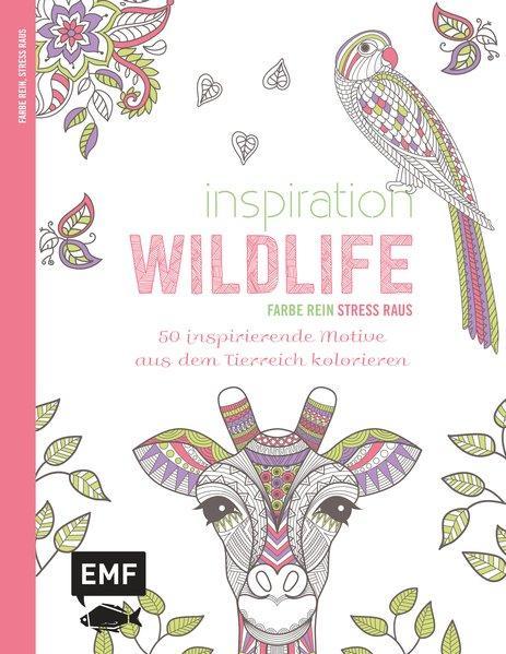 Inspiration Wildlife - 50 inspirierende Motive aus dem Tierreich kolorieren (Mängelexemplar)
