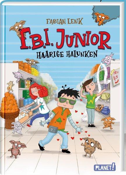 F.B.I. junior 2: Haarige Halunken (Mängelexemplar)
