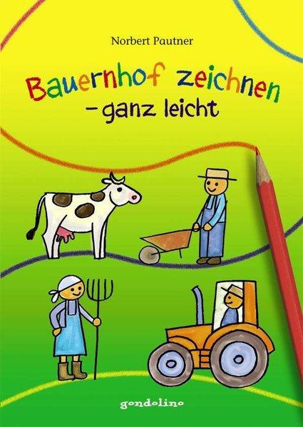 Bauernhof zeichnen – ganz leicht
